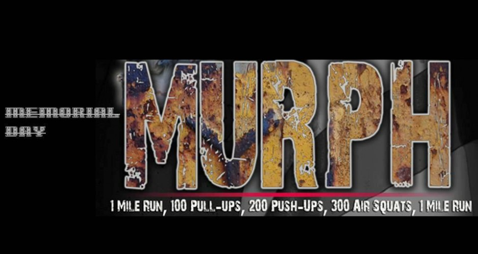 Memorial Day Murph- Massillon CrossFit