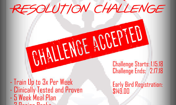 Who's Ready for our New Year's Resolution Challenge?