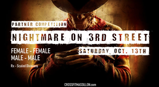 Nightmare on 3rd Street Partner Competition – Massillon CrossFit Events