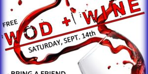 WOD + WINE Special Event